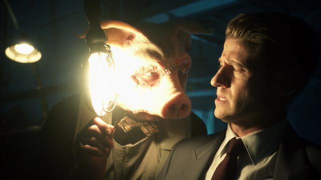 Professor Pyg confronts Jim Gordon in 'Gotham' clip