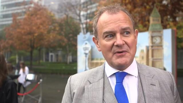 Hugh Bonneville thinks Paddington Bear would make 'a very good Prime Minister'