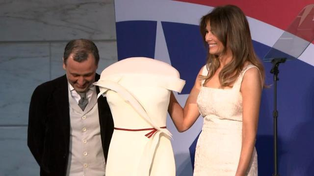 Melania Trump Gives Gown to Smithsonian