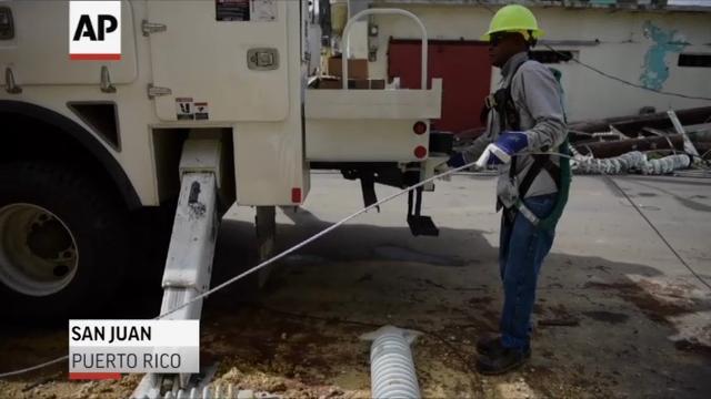 Puerto Rico power: Massive logistics challenge