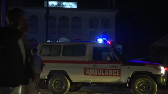 Dozens Dead in Afghanistan Mosque Bombings