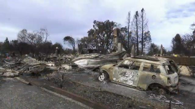 Calif. Evacuees Stunned By Wildfire Devastation