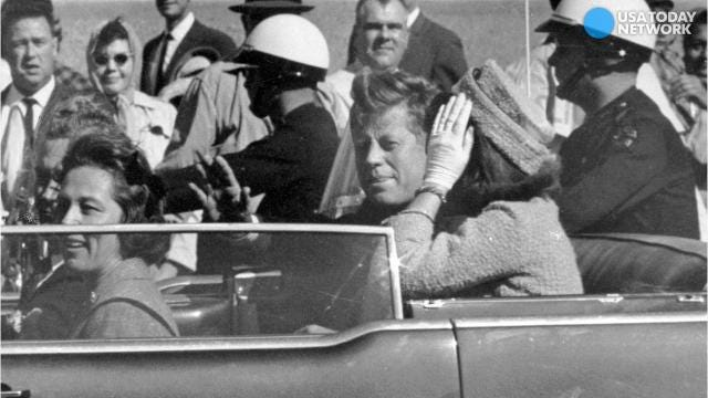 Secret files about the assassination of JFK planned for release
