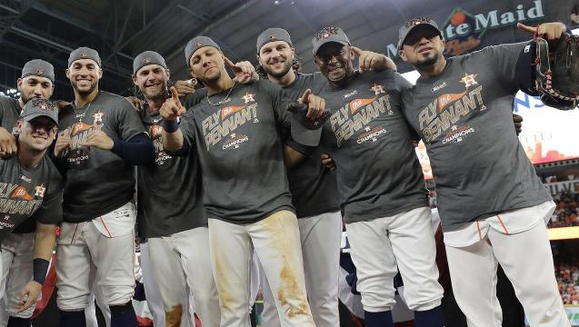 Astros take down Yankees to win AL pennant