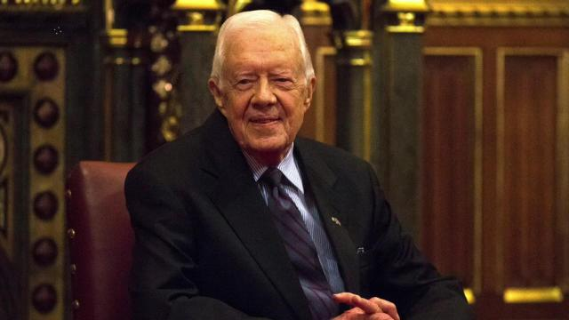 Jimmy Carter willing to travel to North Korea for President Trump