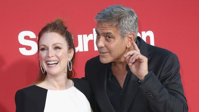Clooney hopes 'something good' will come from Weinstein allegations
