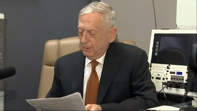 Mattis In Philippines, North Korea On Agenda