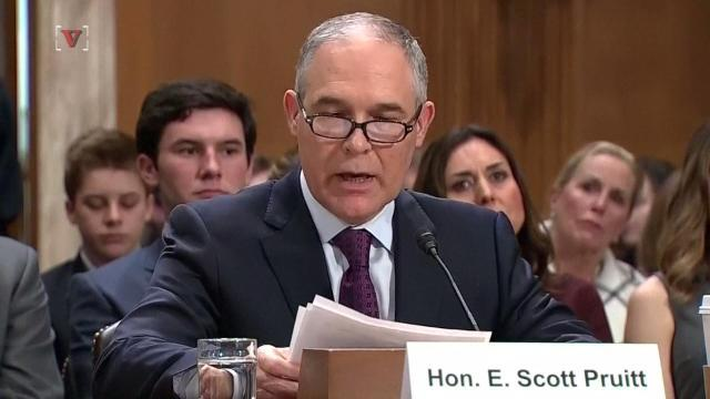 Death threats cause security costs for EPA chief to skyrocket