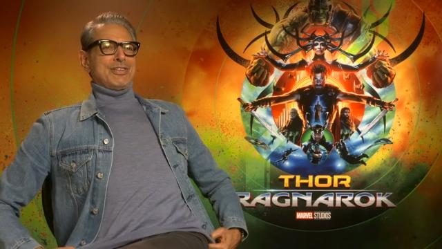 Goldblum won't reveal 'Thor' spoilers - 'even if you tortured me'
