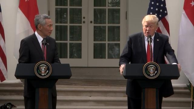 Trump Praises US-Singapore Relationship