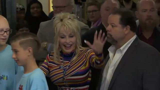 Dolly Parton donates $1M to children's hospital