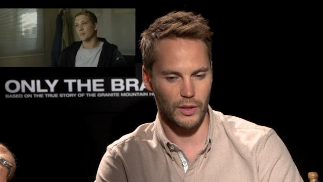 Real fires intrude on 'Only the Brave' promotion