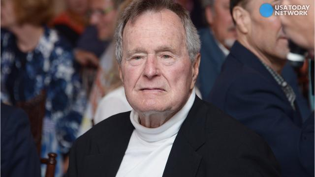 George H.W. Bush apologizes after accusation of improper touching