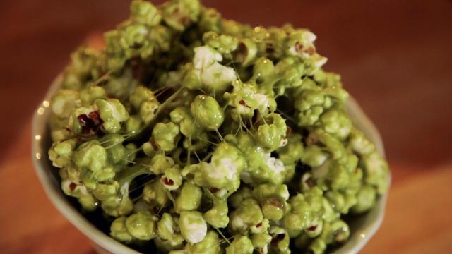 39 Zombie Boogers 39 Popcorn Recipe