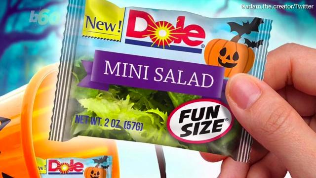 Halloween 'fun size' salads... Trick or treat?