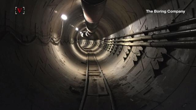 Elon Musk shares first pic of futuristic underground L.A. tunnel