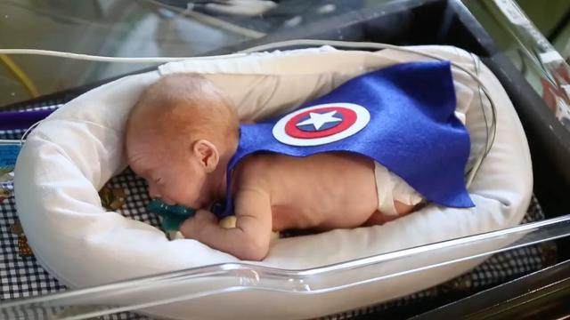 Preemie babies are the superheroes we need for Halloween