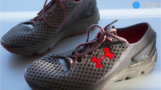 the latest d235d 26b93 Under Armour's stock plummets