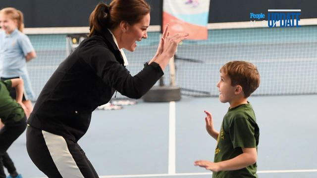 Kate Middleton at tennis class: 1st solo outing after pregnancy public