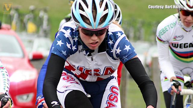 Cyclist's path to the Olympics turned into a career she never expected