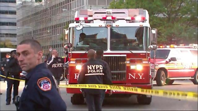 At least 8 people dead after van plows into NYC bike path