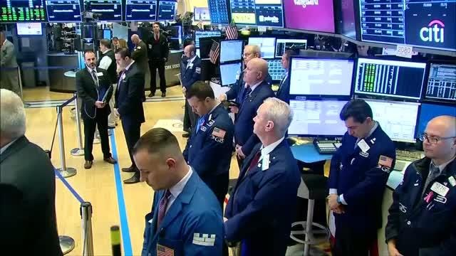 NYSE holds moment of silence for NYC attack victims