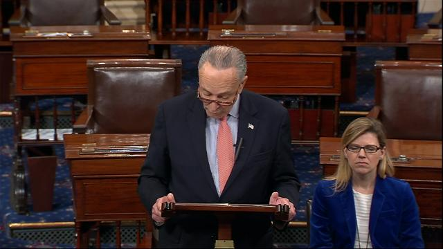 Schumer Hits Trump After Tweet on NYC Attack