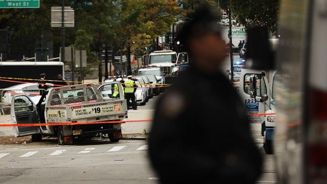 Officials say NYC terror suspect planned truck attack for weeks