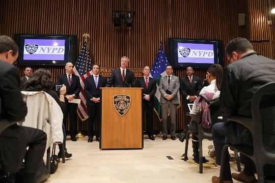 NYC Mayor: New Yorkers are strong in the face of terror