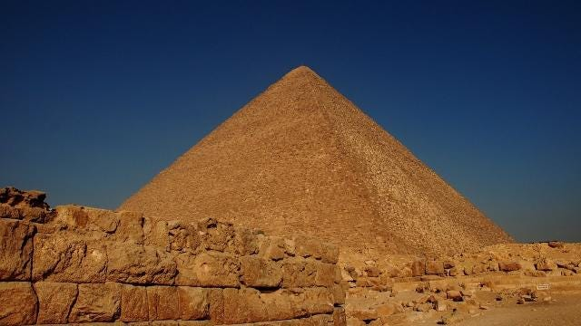 Scientists found a secret chamber in the Great Pyramid
