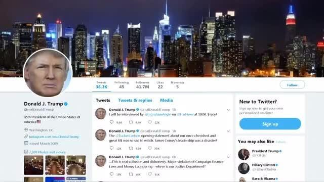 Twitter facing questions about security of Trump's account