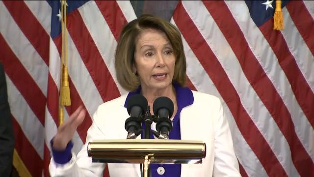 Pelosi: GOP tax plan makes suckers of Americans