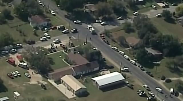 Gunman opens fire in rural Texas church