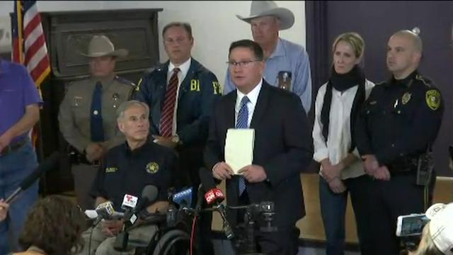 Governor: Church shooting worst in Texas history