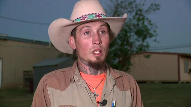 Hero describes chasing down Texas church shooter