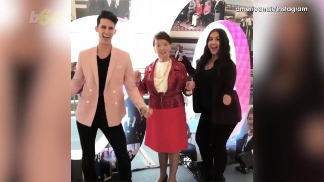 If you've been a flight attendant for 60 years, you can apparently get your groove on at your very own Diamond Jubilee. Buzz60's Nathan Rousseau Smith (@fantasticmrnate) has more.