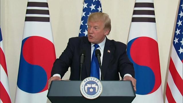 Trump urges North Korea to 'make a deal'