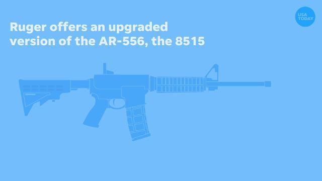 Texas church gunman's AR-15 rifle