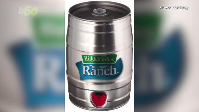 Hidden Valley Ranch is finally offered in a keg for the holidays