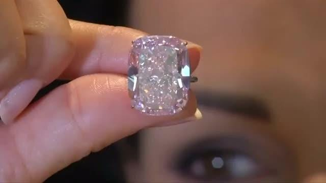 World's largest pink diamond expected to fetch up to $30 million