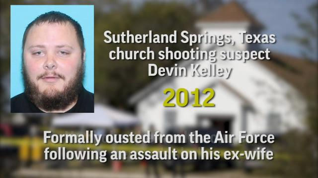 Texas church shooter had violent past