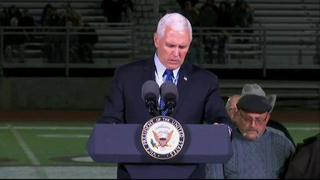 VP Pence Honors Texas Victims at Prayer Vigil