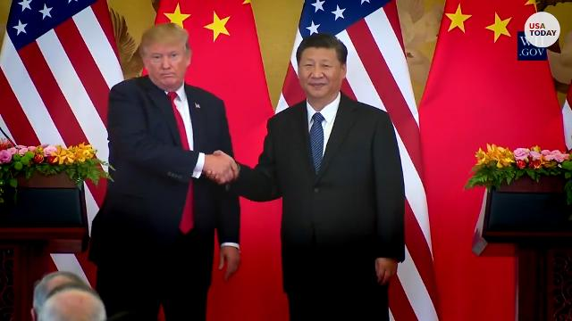 Trump doesn't 'blame' China... anymore