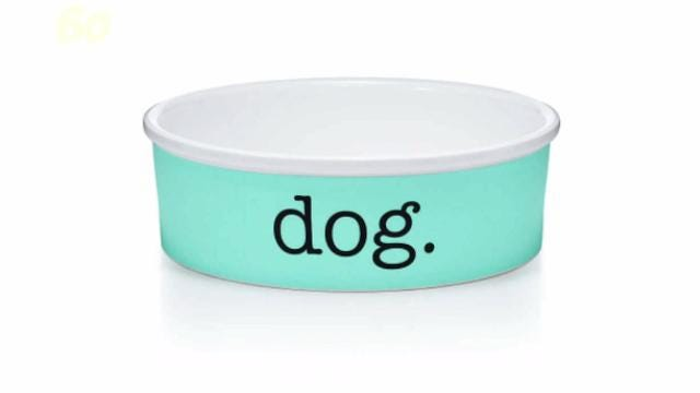 $2K Tiffany dog bowl could be just the thing for your privileged pooch