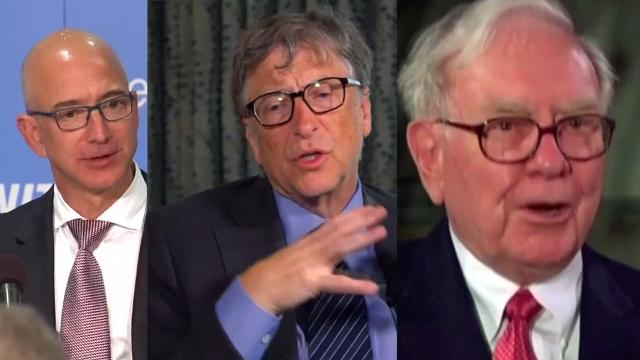 The 3 richest men in U S have more wealth than half of population