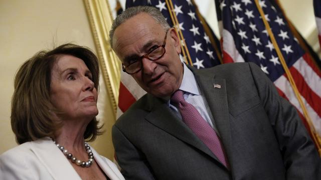 Democrats turn to government shutdown talks with renewed confidence