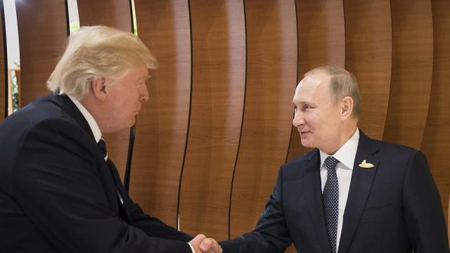 Trump says he believes Putin when he says he didn't meddle in election