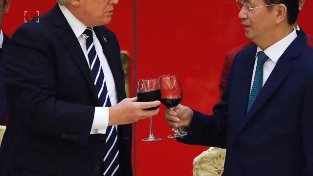 Report: Trump toasts Vietnamese president with glass of Diet Coke
