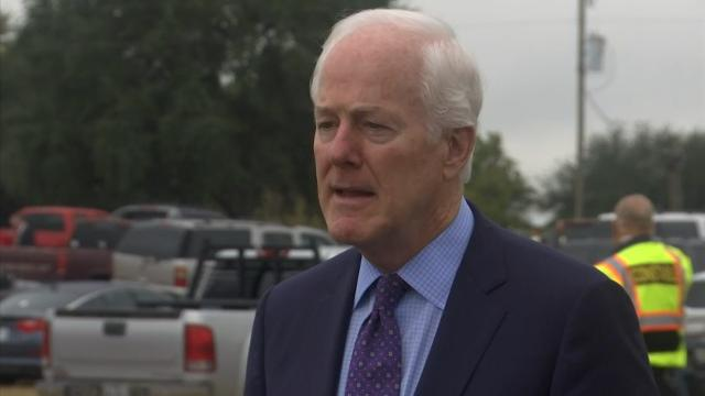Cornyn:Sutherland Springs Residents 'Remarkable'