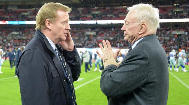 NFL civil war: Jerry Jones vs. Roger Goodell
